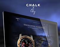 Chalk X Quincy - UI/UX Design