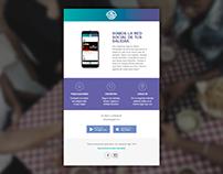 E-mail Marketing / Hoy Hacemos Algo App