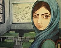 """Malala Yousafzai """"Mujeres 2"""""""