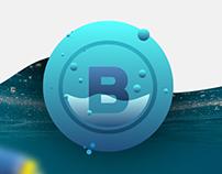 Blumaro logo design