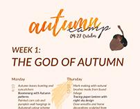 Autumn Camp Schedule