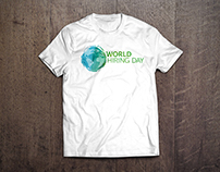 World Hiring Day – T-shirt Design