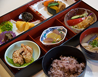 LUNCH AT KAOH PRODUCT SHOP 'YASURAGI-KAN'
