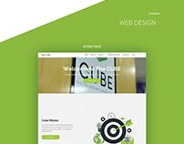 CUBE Branding and Web design