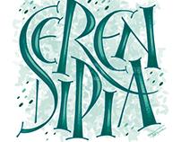 Serendipia • Lettering