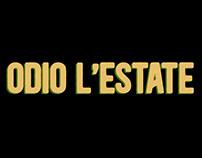 ODIO L'ESTATE - Film title sequence