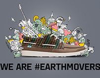We are #earthmovers - CATERPILLAR - PRINT - Wall Art