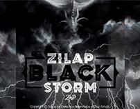 Zilap Black Storm - Font