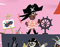 Pirate illustration