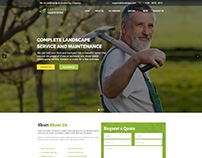 Landscape - WordPress Theme for Gardening & Landscapin