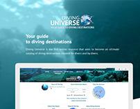 Diving Universe Social Networking Platform