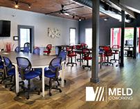 MELD Coworking - branding