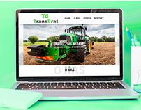 Strona WWW firmy TransBrat