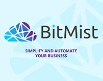 Bitmist website redesign