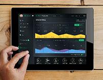 Vantage smarthome system ui design
