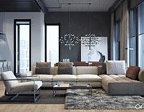 Cozy Loft by ONI Architects