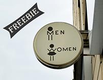 Men & Women Logo Template Freebie