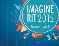 """Imagine RIT"" 2015 Poster Design"