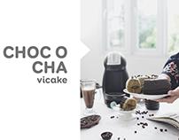 Choco Greentea Vicake | Photographed by me