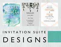 Invitation Suite Designs