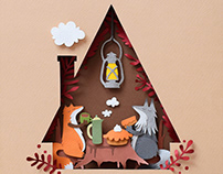 Thanksgiving | Paper art