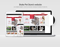 Responsive Pet Store Website