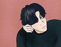 Got7 Kim Yugyeom - Procreate Illustration
