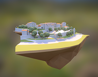 Lowpoly artstyle for unity project