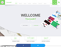 Themeebit - Multipurpose Portfolio PSD Template