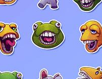 TeethToys Sticker Pack
