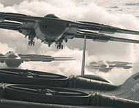 Heavy bomber Drone | MQ- 23 Bulgarov