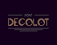 Decolot Font