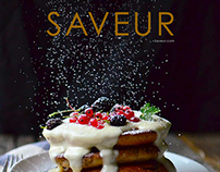Saveur Redesign (Student Project)