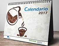 Coffee break - Desk calendar 2017