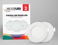 Diseño de Empaque - Focos LED.