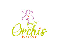 Logotipo Orchis Travel