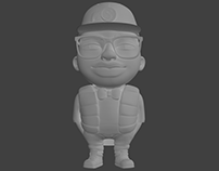 3d modeling character