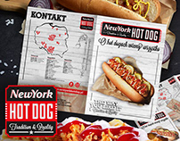 New York Hot Dog - katalog