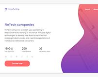 Web design : Crowdfunding