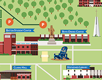 Virginia Wesleyan College Map