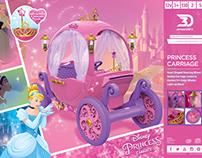 Disney Princess Carriage Packaging