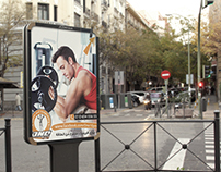 "Designs for Advertising Campaign ""ONE GYM"" - Egypt"