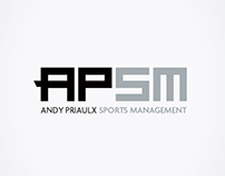 Branding for Andy Priaulx Sports Management