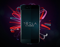TESLA SMARTPHONE TEST ANIMATION
