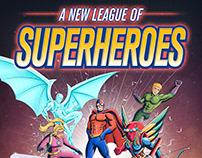 A New League Of Superheroes