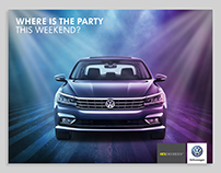 Volkswagen Egypt - Social Media Designs