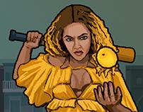 Lemonade Rage: The 8-bit Beyonce Video Game