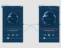 Apple Music Dark Mode Exercise