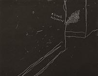 Mono Prints: Line drawings