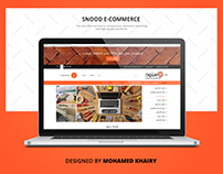 Snood eCommerce Website